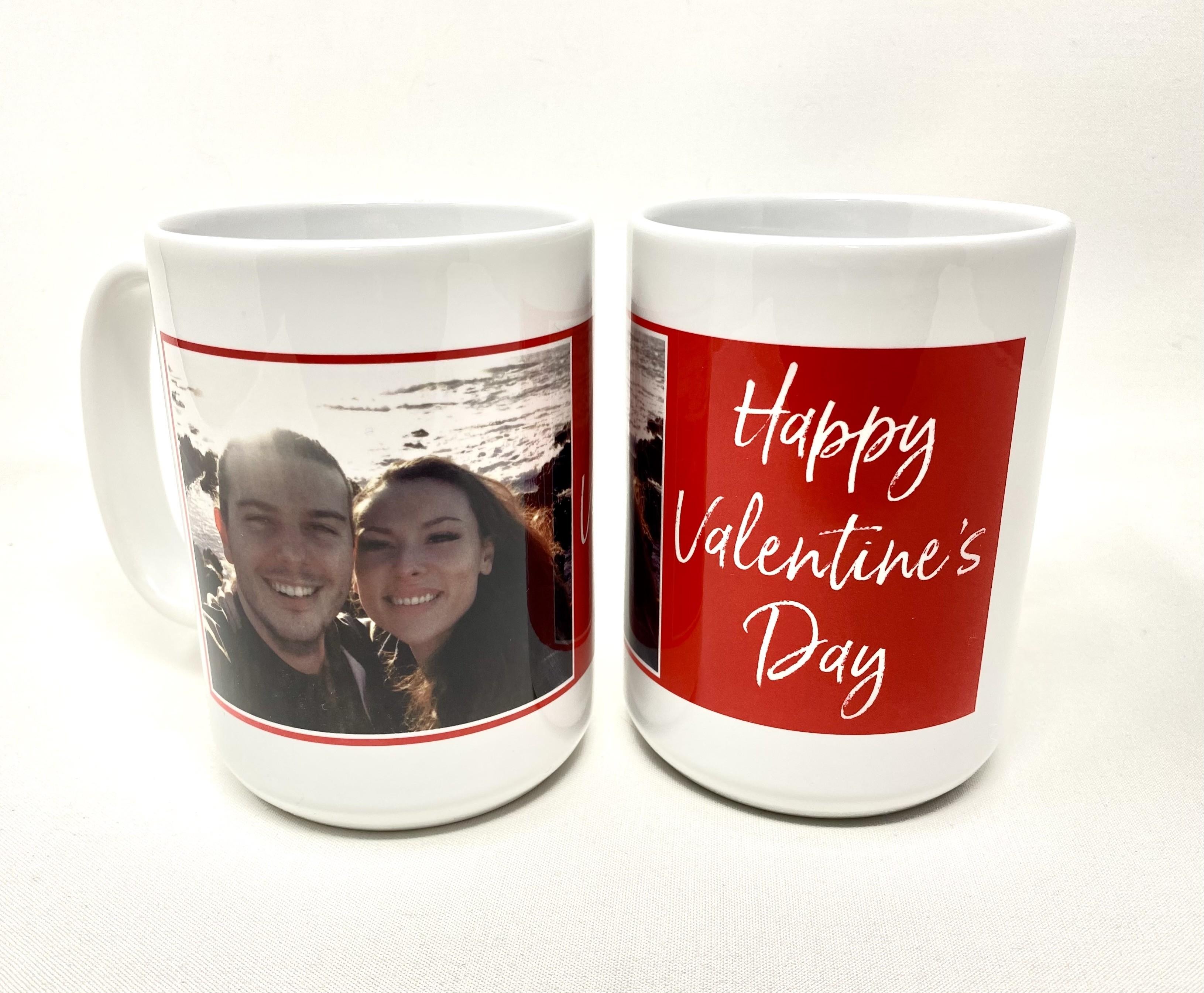 Valentines Day Ceramic Mug 15 oz.