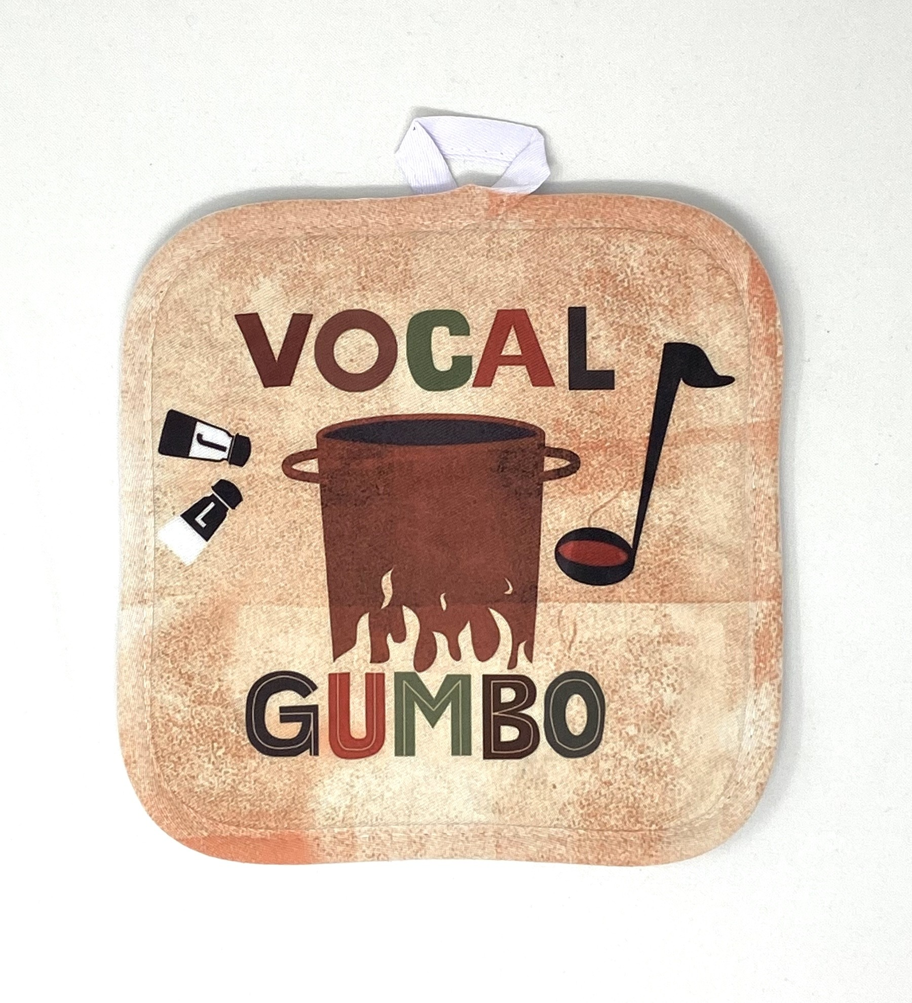 VOCAL GUMBO Hot Pad