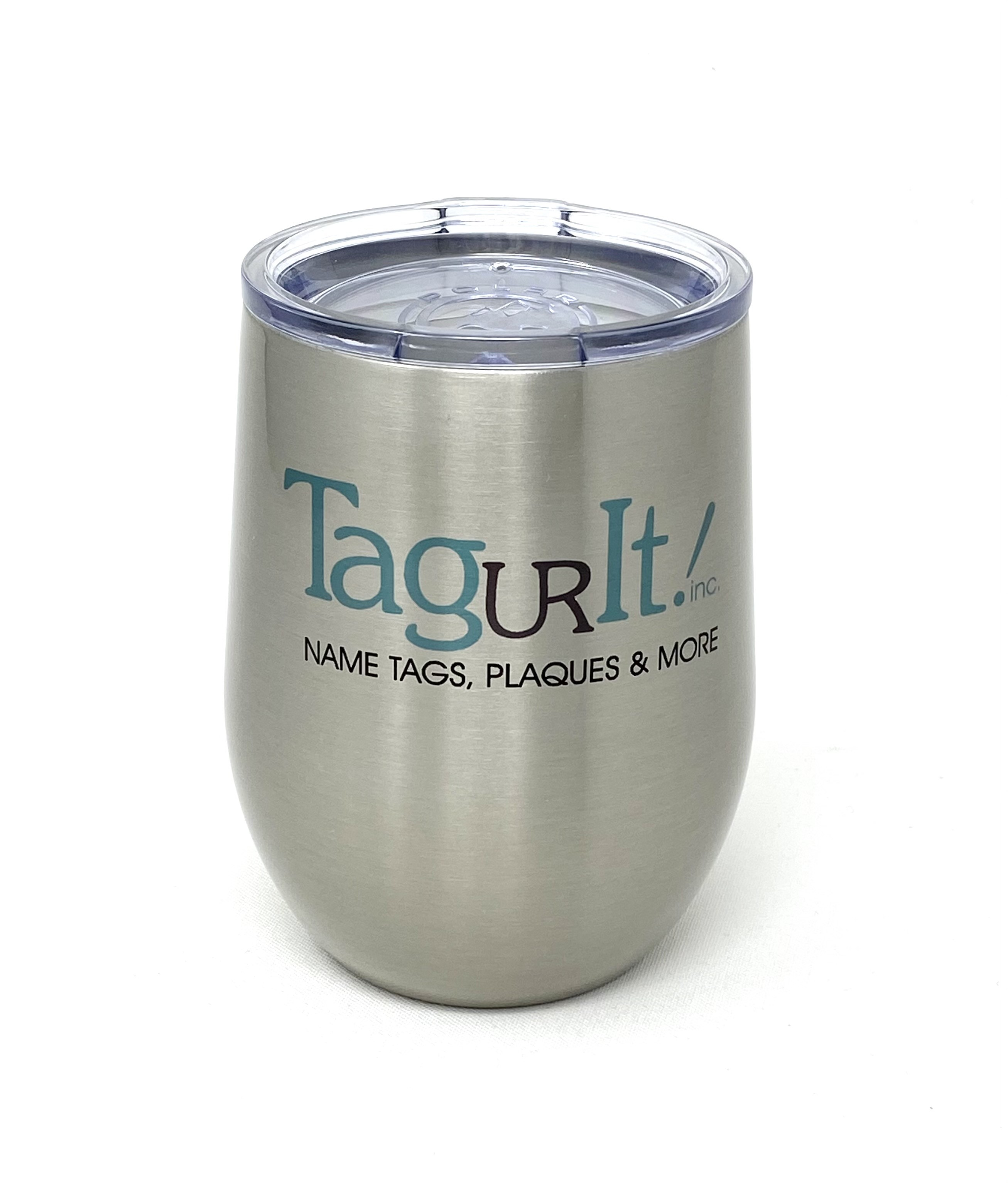 Stainless Steel Polar Camel Wine Tumbler with Lid 12 oz.