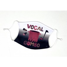 VOCAL GUMBO 2 Layer Face Mask with Filter