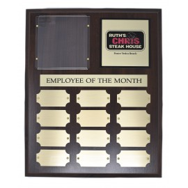 Ruth's Chris Perpetual Plaque