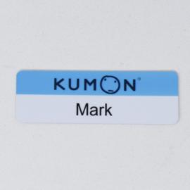 """Kumon 1""""x3"""" Plastic Instatag"""