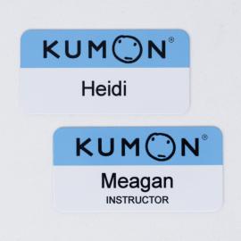Kumon Glossy Aluminum Name Tag