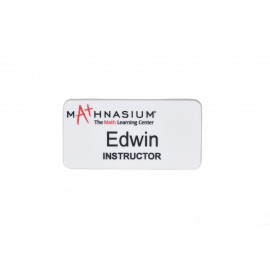 Mathnasium Unisub Name Tag