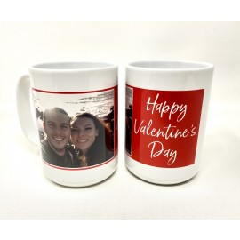 Valentines Day Ceramic Mug 15 oz.