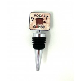 VOCAL GUMBO Bottle Stopper